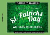 St.Patricks Day - Feiern wie die Ir(r)en@Bar Mephisto