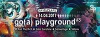 Go(a) Playground Water shoe dance@Club Spielplatz