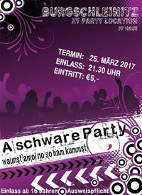 A schware Party@Burgschleinitz FF Gelände