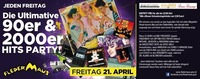 Die Ultimative 90er & 2000er HITS Party!@Fledermaus Graz