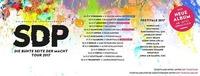 Hochverlegt: SDP • Die bunte Seite der Macht Tour 2017 • Wien (A)@Gasometer - planet.tt