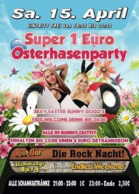 Super 1€ Osterhasenparty@Excalibur