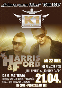 Harris & Ford@K1 CLUB Zell am See