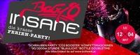BABY O Insane – die krasse Ferien-Party!@Baby'O