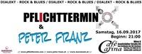 Pflichttermin & Peter Franz@Café Carina