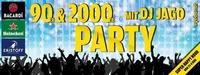 90er & 2000er PARTY mit DJ JAGO@Discothek Evebar