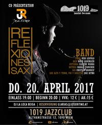 Jose Ritmo: CD Präsentation REFLEXIONES SAX@1019 Jazzclub