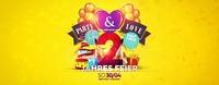 Party&Love 2-Jahresfeier