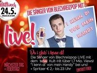 I kenn' di von mein Handy LIVE!@Maurer´s