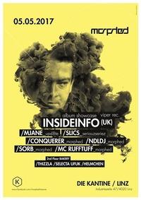 Morphed presents Insideinfo Album Showcase@Die Kantine