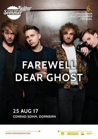 Farewell Dear Ghost / 25 AUG 17 / 6. Kultursommer-Festival@Conrad Sohm