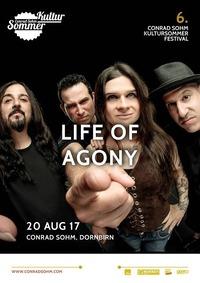 Life Of Agony / 20 AUG 17 / 6. Kultursommer-Festival@Conrad Sohm