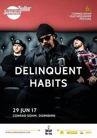 Delinquent Habits / 29 JUN 17 / 6. Kultursommer-Festival@Conrad Sohm