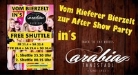 Free Shuttle / Kieferer Bierzelt - Tanzstadl Arabia