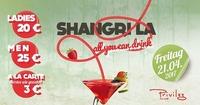 Shangri La All you can drink im Privileg@Club Privileg