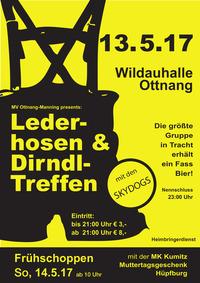 Lederhosen- und Dirndltreffen 2017@Wildauhalle Ottnang
