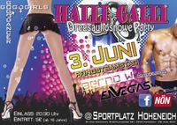 Halli Galli dregsauhosnowe Party@Sportplatz
