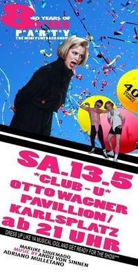 40 Years of 80'ies Party: the Mini Playbackshow@Club U