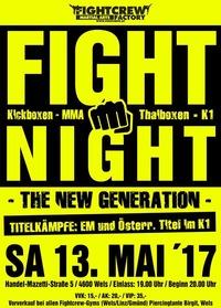 Fight Night  The new generation @Sportmittelschule wels