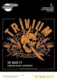 Trivium / 10. August 2017 / 6. Conrad Sohm Kultursommer-Festival@Conrad Sohm
