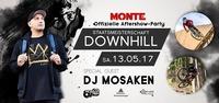 Offizielle Downhill Aftershow Party mit DJ Mosaken@Monte
