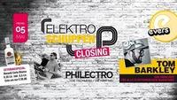 Elektroschuppen Closing@Evers