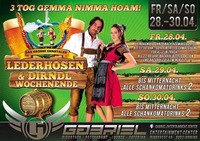 Lederhosen & Dirndl Wochenende @Gabriel Entertainment Center