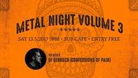 Metal Night Vol.3@SUB