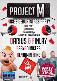 Darius & Finlay - BabyBouncers - Mikes Geburtstags Party!!