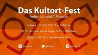 Das Kultort-Fest (kultort.at wird 7 Monate)@B72