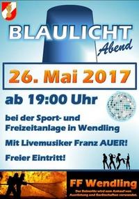 Blaulicht Abend@Sport- und Freizeitanlage Wendling
