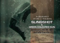 Slingshot & Green Coloured Sun at Cafe Carina@Café Carina