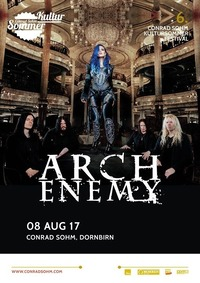 ARCH ENEMY / 08 AUG 17 / 6. Kultursommer-Festival@Conrad Sohm