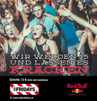 TGI Fridays Silent Disco Birthday Bash@TGI Fridays Wien