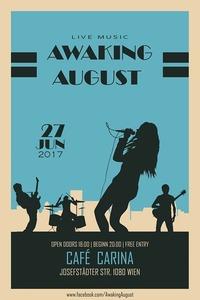 Awaking August LIVE@Café Carina@Café Carina