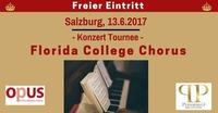 Florida College Chorus singt für ArMut Teilen@Kardinal Schwarzenberg Haus