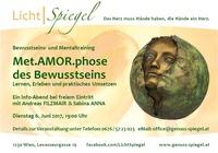 Met.AMOR.phose des Bewusstseins@Genuss-Spiegel - Café, Kunst & Kulinarik