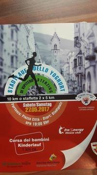 Stadtlauf Dello Yogurt Di Vipiteno Sterzing@Sterzing