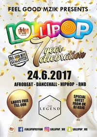 7 Years of Lollipop@The Legend