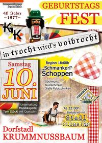 KJK Geburtstagsfest@Dorfstadl Krummnkußbaum