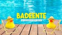 Badeente - Das Säulenhalle Pool-Special@Säulenhalle