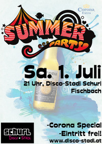 Summer Party@Disco-Stadl Schurl