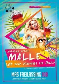 Schei* drauf Malle ist nur einmal im Jahr #Maßbandlfeier Mrs10b@Johnnys - The Castle of Emotions