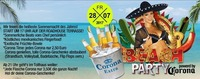 BEACH PARTY powered by Corona@Tollhaus Weiz