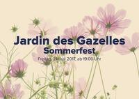 Jardin des Gazelles Sommerfest@Aux Gazelles