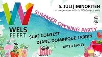 Summer Opening PARTY@Wildwechsel