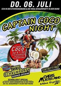 Captain Coco Night XXL Schaumparty Opening@Excalibur