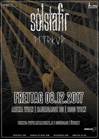 Sólstafir & Myrkur - Arena Wien@Arena Wien