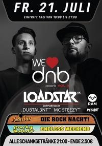We love DnB Vol. II presents Loadstar@Excalibur