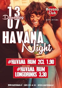 Havana Night@Kaktus Bar
